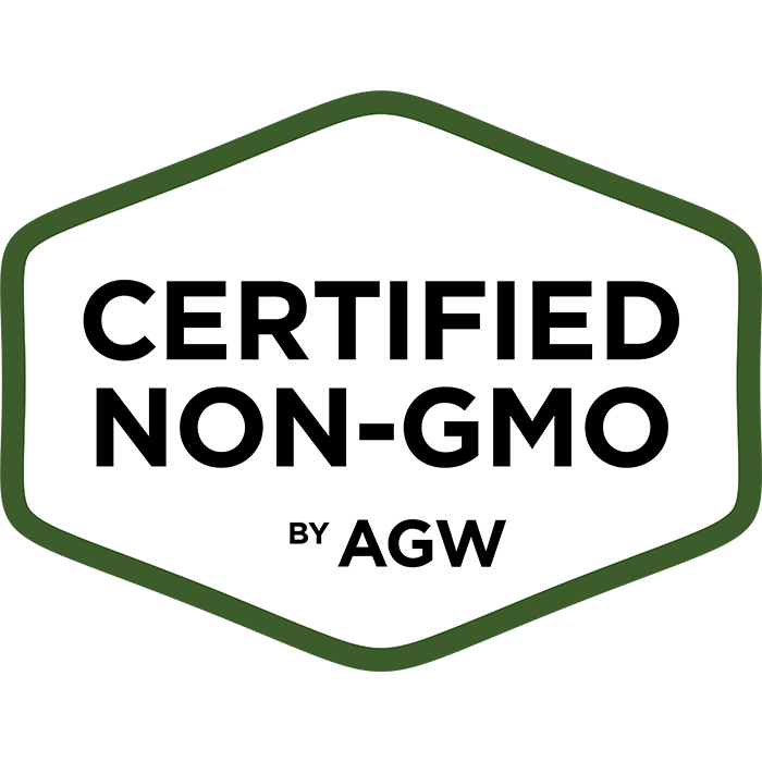 Certified Non-GMO by AGW